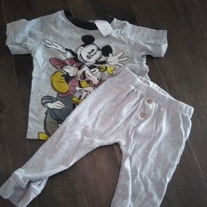 Other - Mickey and Friends outfit